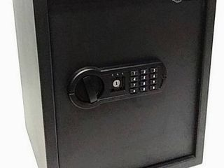 AmazonBasics Home Keypad Safe   1 52 Cubic Feet   13 8 x 13 x 16 5 Inches