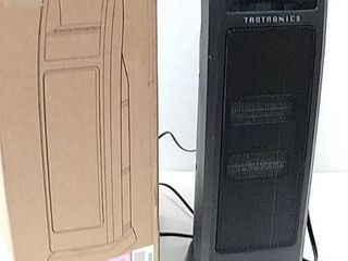 Parts or Repair  Space Heater   TaoTronics Dual PTC 1500W Portable Heater w Remote  Model TT HE008
