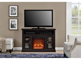 Ameriwood Home Chicago Electric Fireplace TV Console for TVs up to a 50  Multiple Colors