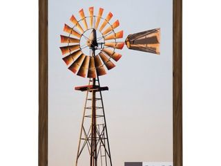 24  x 36  large Wall Frame Walnut   Gallery Perfect