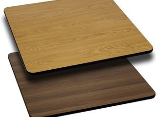 Flash Furniture 36  Square Table Top with Reversible laminate Top  Multiple Colors