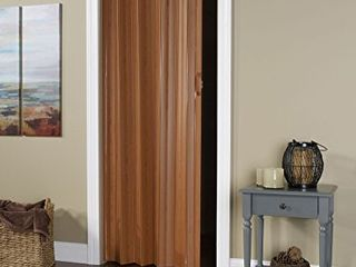 lTl Home Products   Accordion Folding Door  24 36 x 80 Inches  Fruitwood Finish    Bonus 2 Panel 48  Bi Fold Door Hardware Kit  Bent