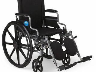 Medline K4 Basic lightweight Elevating Wheelchairs  Desk Arm  18 Inch