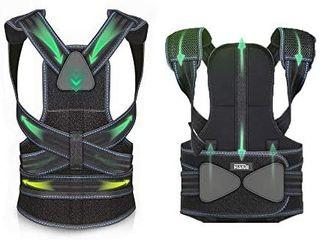 Back Brace Posture Corrector   Adjustable Aluminum Bracket That Best fits Human biomechanics