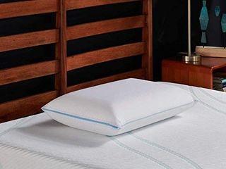 Tempur pedic 15387125 Cloud Cooling Prolo Pillow King Memoryfoam Size Blue