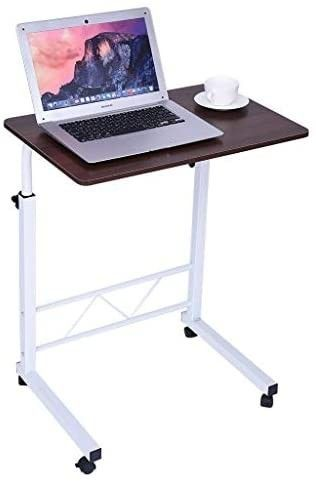Micozy Computer Desk  Household Portable laptop Stand for Bed Sofa Folding Bedside Table