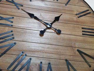Rustic Clock Decorative