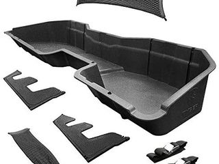 Tyger Auto Underseat Storage Box Compatible with 2014 2018 Chevy Silverado GMC Sierra lD  2015 2019 Silverado Sierra HD Crew Cab