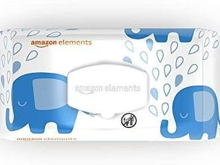 Amazon Elements Baby Wipes  Fragrance Free  90 Count 5 Pack