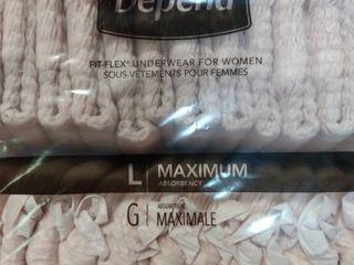 Depends Fit Flex Underwear for Women