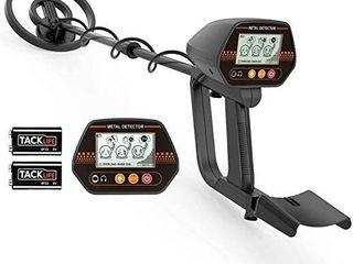 Metal Detector  Adjustable Metal Finder  24 45 for Adults and Kids with larger Back lit lCD Display