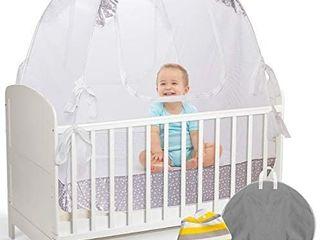 lA CHUPETA Crib Pop Up Tent Safety Net