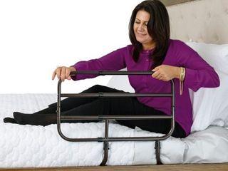 Able life Bed Assist Rails   Black