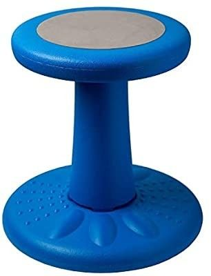 Active Kids Chair a Wobble Chair Toddlers  Pre Schoolers   Age Range 3 7y a Grades K 1 2   14  High a Flexible Seating Classroom   Helps ADD ADHD   Corrects Posture   Blue