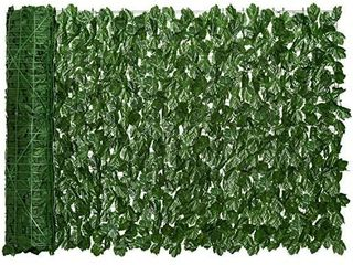 DearHouse Artificial Ivy Privacy Fence Screen  118 1x39 3 inch Artificial Hedges Fence and Faux Ivy Vine leaf Decoration for Outdoor Decor  Gardenecor  Garden