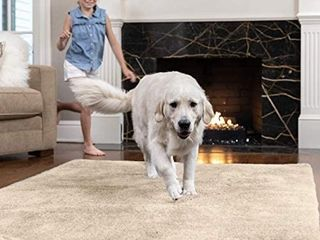 Area Rug  4 5x5 5 FT  Many Colors  Soft and Cozy High Pile Washable Kids Carpet  Modern Rugs for Floor  luxury Shaggy Carpets for Floors  Bed and living Room  Taupe