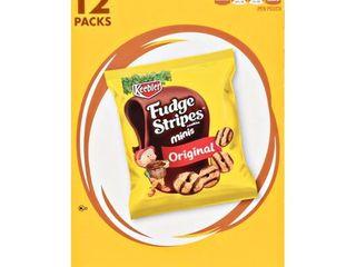 Keebler Caddies Cookies Fudge Stripes Minis 12oz