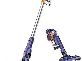 ORFElD Cordless Vacuum  18Kpa Stick Vacuum 4 in 1  Super lightweight Vacuum Cleaner  Up to 50 Minutes Runtime  with Dual Digital Motor for Deep Clean Whole House