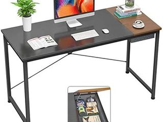 Foxemart Computer Desk  40 Inch Modern Study Writing Desk for Home Office