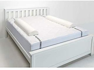 Double Sided Extra long Toddler Bed Rail Bumper Foam Safety Guard for Bed
