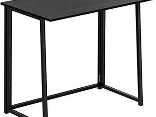 PAKASEPT Folding Desk  No Assembly Small Computer Desk Home Office Desk Foldable Table Study Writing Desk