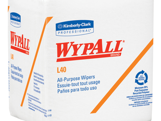 Kimberly Clark Professional 05701  Wypall l40  White General Purpose Wipers   Quantity  1008