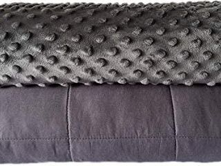 Quility Premium Adult Weighted Blanket   Removable Cover