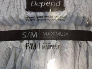 Depends Fit Flex Underwear for Men