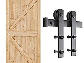 SMARTSTANDARD 6 6ft Heavy Duty Sturdy Sliding Barn Door Hardware Kit