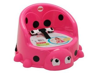 Fisher Price Portable Booster Seat  Pretty in Pink ladybug