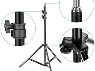 Neewer Heavy Duty light Stand  3 6 5 feet 92 200 Centimeters Adjustable Photographic Stand Sturdy Tripod