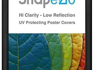 SnapeZo Poster Frame 28x40 Inches  Black 1 2 Inch Aluminum Profile  Front loading Snap Frame