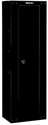 Stack On GCB 8RTA Steel 8 Gun Ready to Assemble Security Cabinet  Black