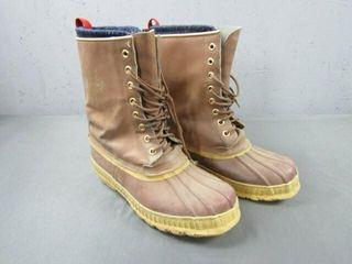 Hunt Master Polar Leather Snow Boots