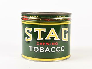 STAGE CHEWING TOBACCO CUT OFF CAN