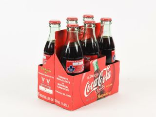 1999 COCA COlA FIRST GAME AIR CANADA CENTRE 6 PACK