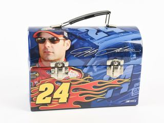 2009 JEFF GORDON 24 lUNCH BOX   THERMOS   NEW