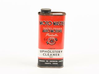 MOTO MASTER UHPHOlSTERY ClEANER 10 OZS  CAN