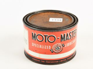 MOTO MASTER lUBRICANTS ONE POUND CAN