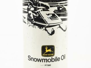 JOHN DEERE SNOWMOBIlE 16 OZS  PUll TOP CAN