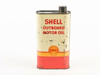 SHEll OUTBOARD MOTOR OIl IMPERIAl QUART CAN