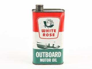 WHITE ROSE OUTBOARD POWER MOWER MOTOR OIl CAN