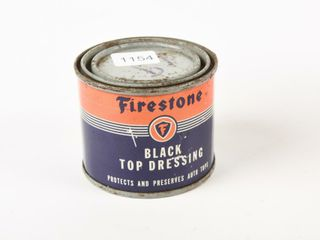 FIRESTONE BlACK TOP DRESSING 8 OZS CAN   FUll
