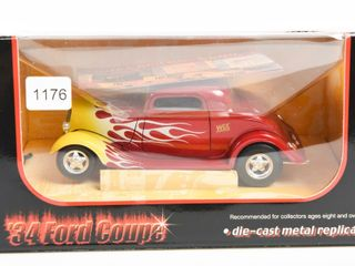 WIX FIlTERS  34 FORD COUPE DIE CAST REPlICA  BOX