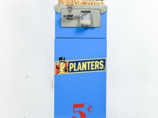 ROASTED PEANUTS 5 CENT DISPENSING MACHINE
