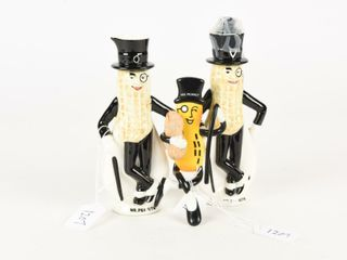 lOT OF 3 MR  PEANUT COllECTIBlES
