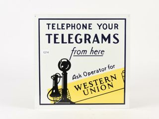 TElEPHONE YOUR TElEGRAMS WESTERN UNION SST SIGN