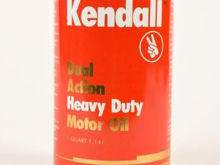 KENDAll DUAl ACTION MOTOR OIl QUART CAN   FUll