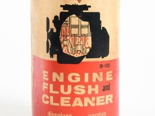 CANADIAN TIRE MOTO MASTER ENGINE FlUSH CAN  FUll