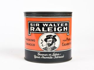 SIR WAlTER RAlEIGH PIPE   CIGARETTE TOBACCO CAN